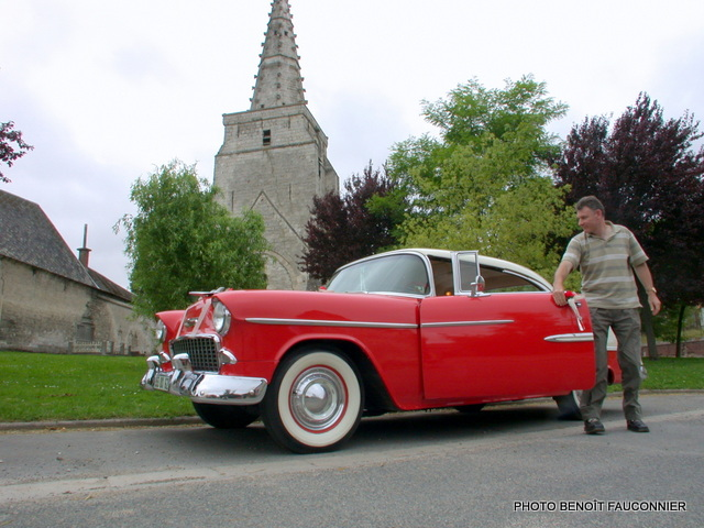 Chevrolet Bel Air coupé 1955 (2)