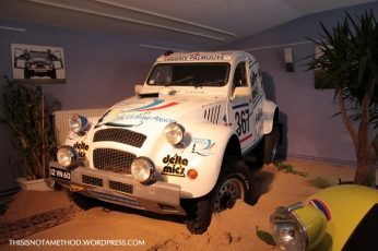 2CV Musée Matra