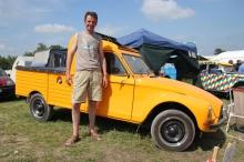 2CV SALBRIS Hervé et sa Dyane pick-up
