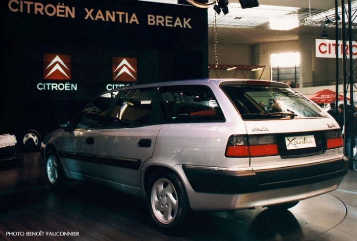 Citroën Xantia break au salon de Bruxelles 1996