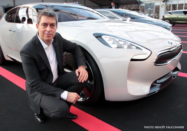 Grégory Guillaume & Kia GT