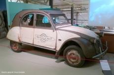 Citroën 2CV Tour du monde Baudot-Séguéla (1959)