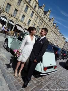 2CV mariage Julien