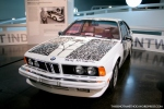 1986 BMW 635 CSI ART CAR ROBERT RAUSCHENBERG