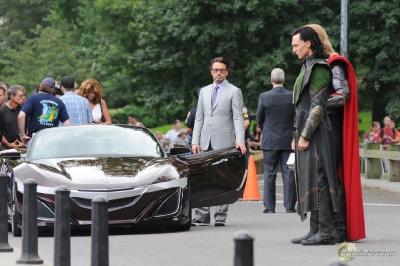 Acura NSX The Avengers