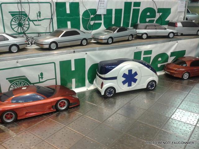 Vente aux enchères Heuliez le 7 octobre 2012 à Cerizay - Maquettes 1/5e