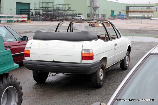 Vente aux enchères Heuliez le 7 octobre 2012 à Cerizay - Prototype Renault 11 cabriolet