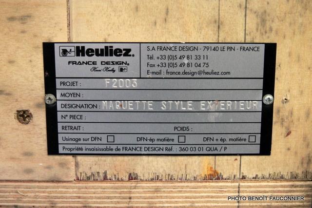 Vente aux enchères Heuliez le 7 octobre - Maquette Kia KCV3