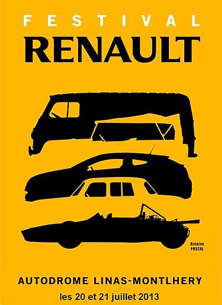 Affiche Festival Renault