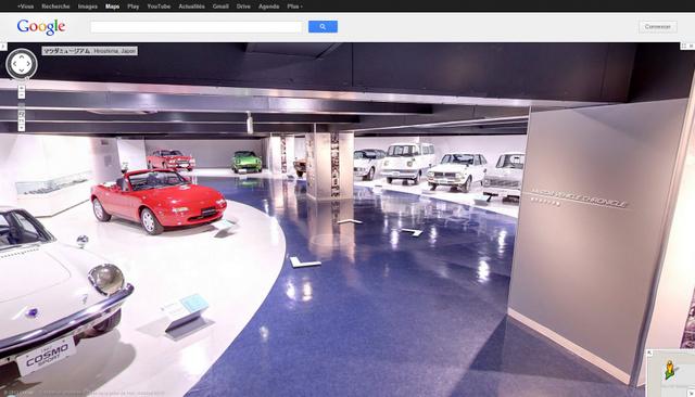 Musée Mazda avec Google Street View
