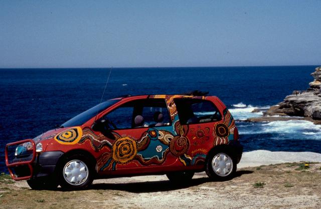 Renault Twingo Jean Dulon en Australie