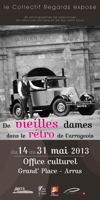 Affiche expo Franck et Pierre