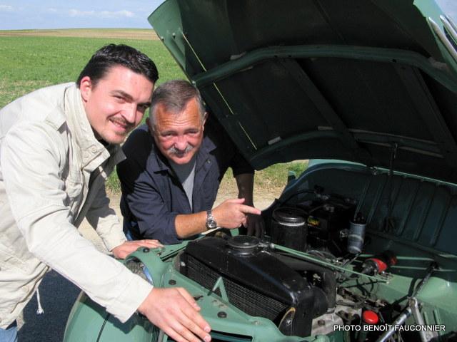Franck Leclercq et Pierre Hugonnaud