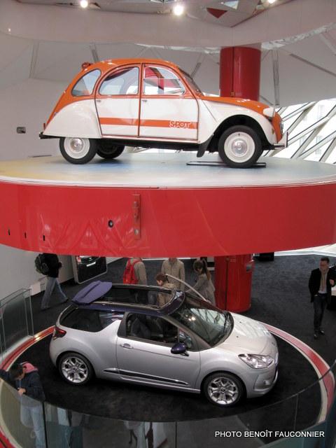 Citroën 2CV Spot et DS3 Cabrio