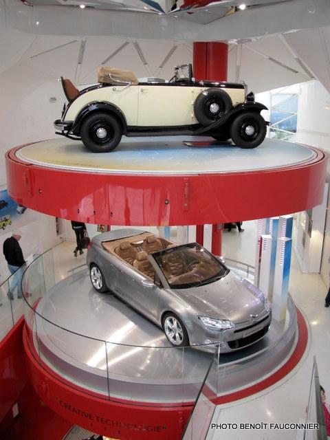 Citroën Rosalie et C5 Airscape