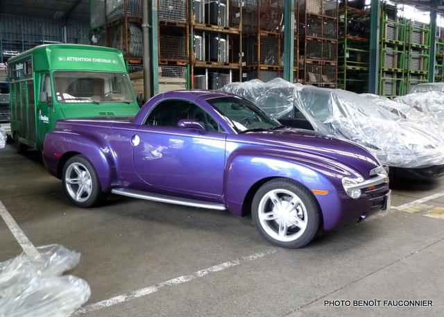 Chevrolet SSR Heuliez
