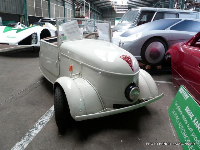 Peugeot VLV électrique 1941 Heuliez