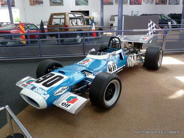 Musée Matra MATRA MS11-12 FORMULE 1 1968