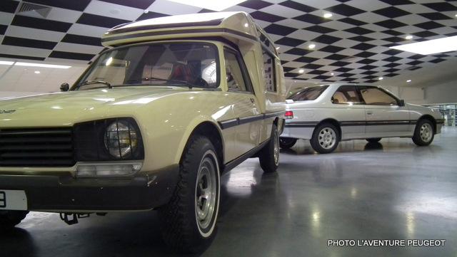 504 pickup Loisirs 405 coupé USA