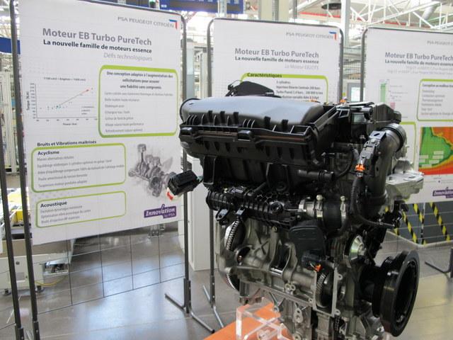 Moteur PSA EB Turbo Pure Tech FM Douvrin (4)