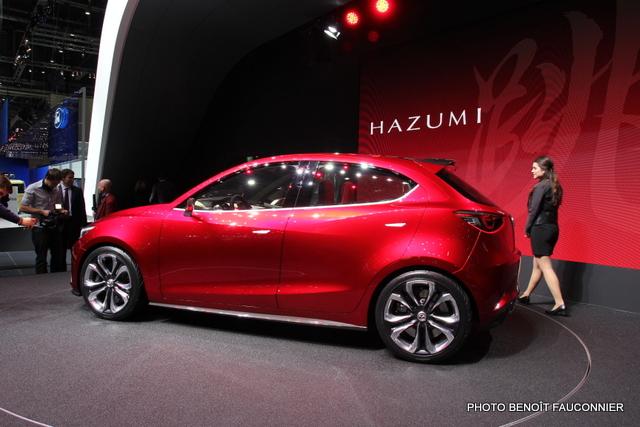 Salon de Genève 2014 Mazda Hazumi