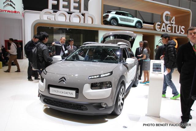 Salon de Genève 2014 Citroën C4 Cactus