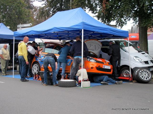 Rallye Le Béthunois 2014 - parc fermé, podium et assistance (16)