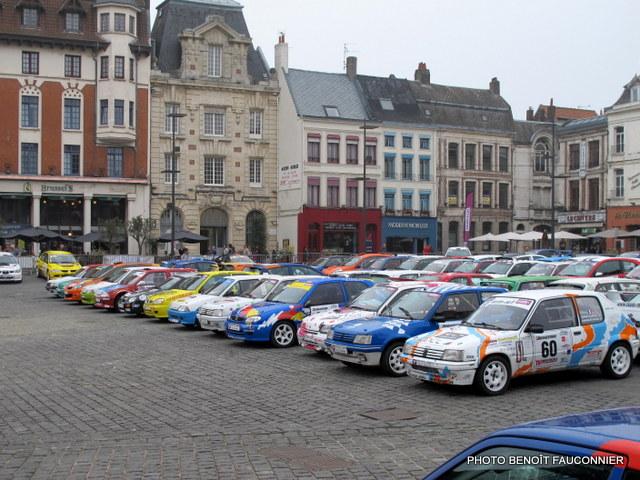Rallye Le Béthunois 2014 - parc fermé, podium et assistance (2)
