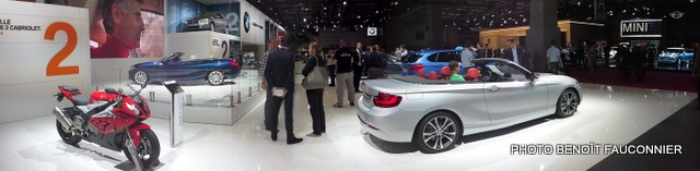 Mondial de l'Automobile 2014 BMW