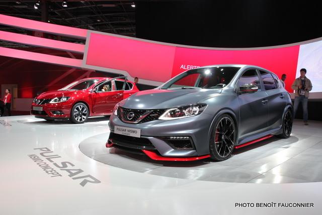 Mondial de l'Automobile 2014 Nissan Pulsar Nismo (3)
