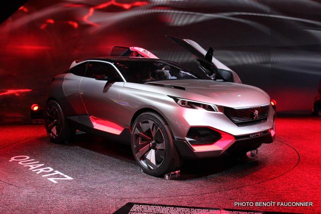 Mondial de l'Automobile 2014 Peugeot Quartz (5)