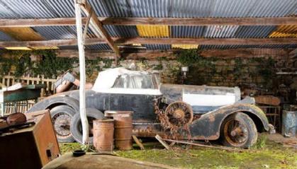 Collection Baillon Artcurial Hispano Suiza H6B cabriolet Millon-Guiet