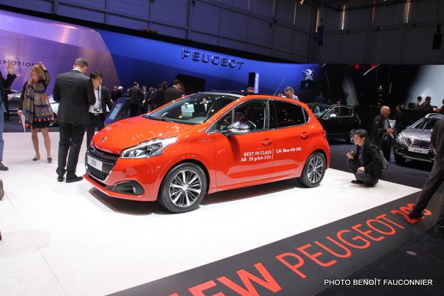 Salon de Genève 2015 - Peugeot 208