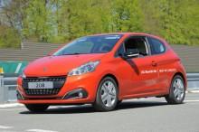 Peugeot 208 BlueHDI 100 record de consommation