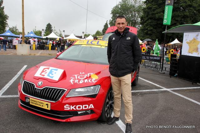 Gilles Maignan, pilote de la Skoda Superb Tour de France 2015 (2)