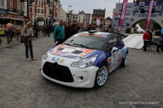 Départ 1e boucle rallye Le Béthunois 2015 (12)