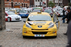 Départ 1e boucle rallye Le Béthunois 2015 (17)