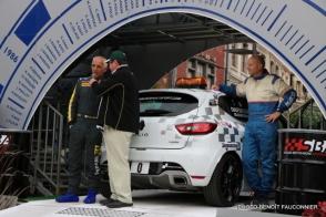 Départ 1e boucle rallye Le Béthunois 2015 (2)