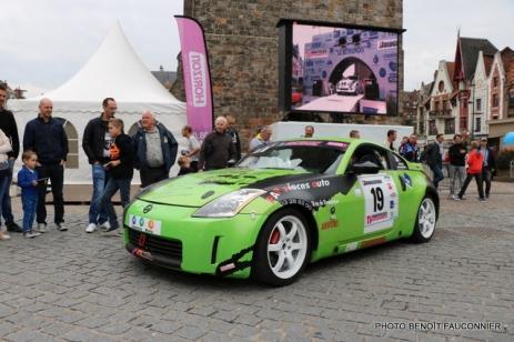 Départ 1e boucle rallye Le Béthunois 2015 (23)