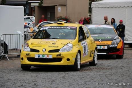 Départ 1e boucle rallye Le Béthunois 2015 (28)