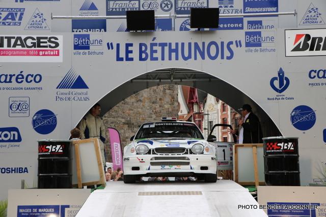 Départ 1e boucle rallye Le Béthunois 2015 (4)