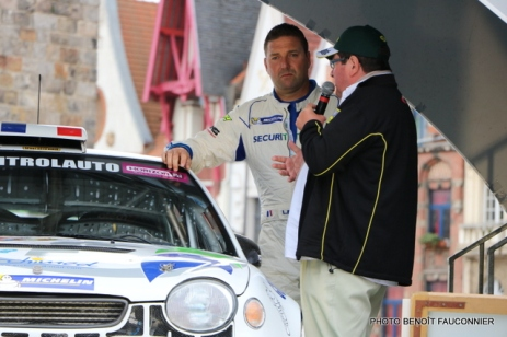 Départ 1e boucle rallye Le Béthunois 2015 (6)
