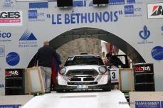 Départ 1e boucle rallye Le Béthunois 2015 (8)