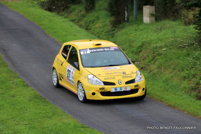 Rallye Le Béthunois - ES8 Le Turbeauté (57)