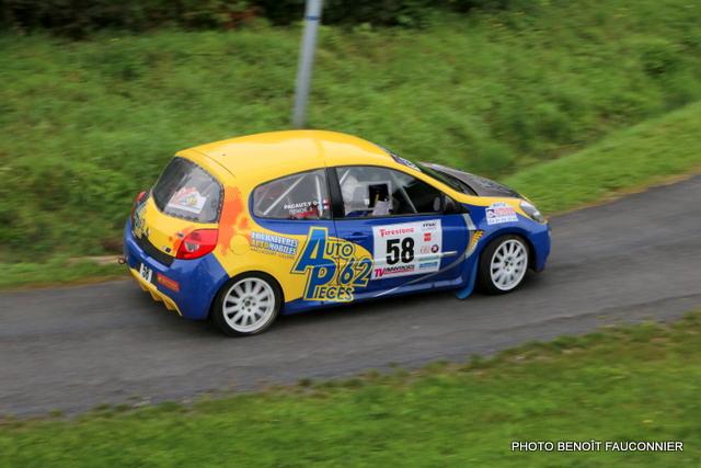 Rallye Le Béthunois - ES8 Le Turbeauté (61)