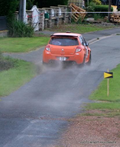 Rallye Le Béthunois - ES8 Le Turbeauté (73)