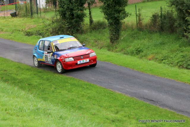 Rallye Le Béthunois - ES8 Le Turbeauté (95)