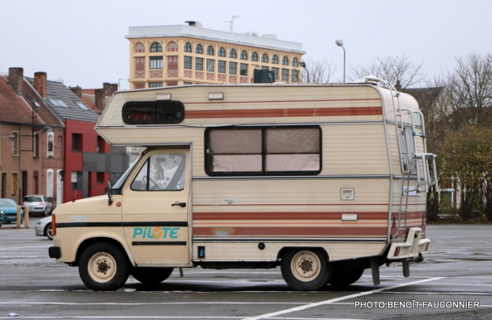 Ford Transit camping-car