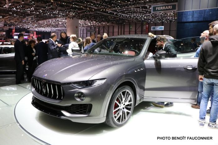 Salon de Genève 2016 - Maserati Levante