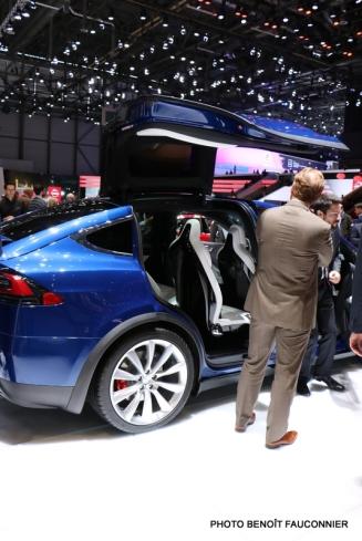 Salon de Genève 2016 - Tesla Model X